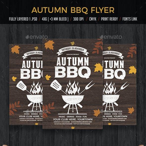 Autumn BBQ