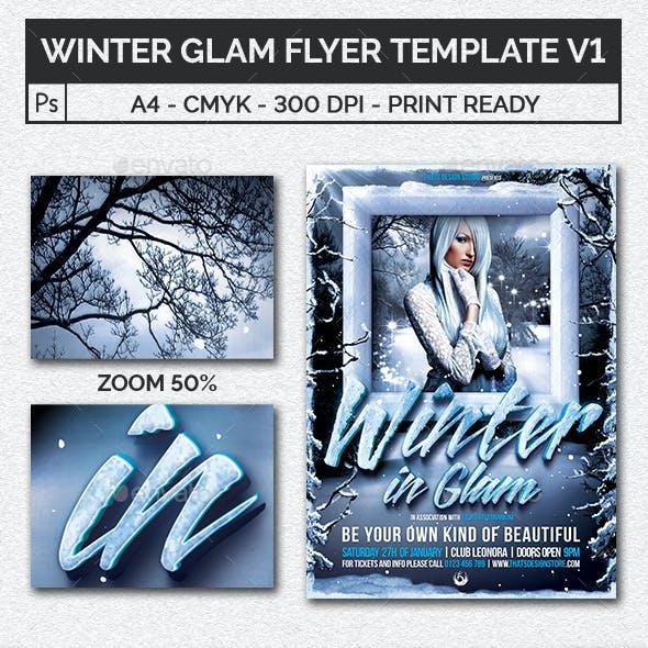 Winter Glam Flyer Template V1