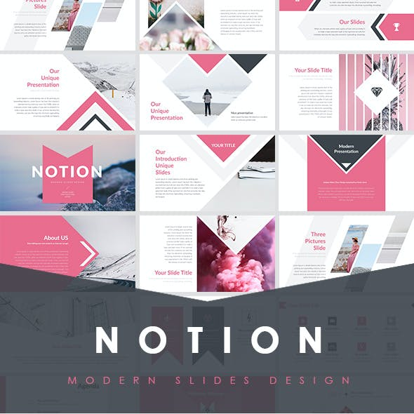 NOTION - Simple Creative PowerPoint Template