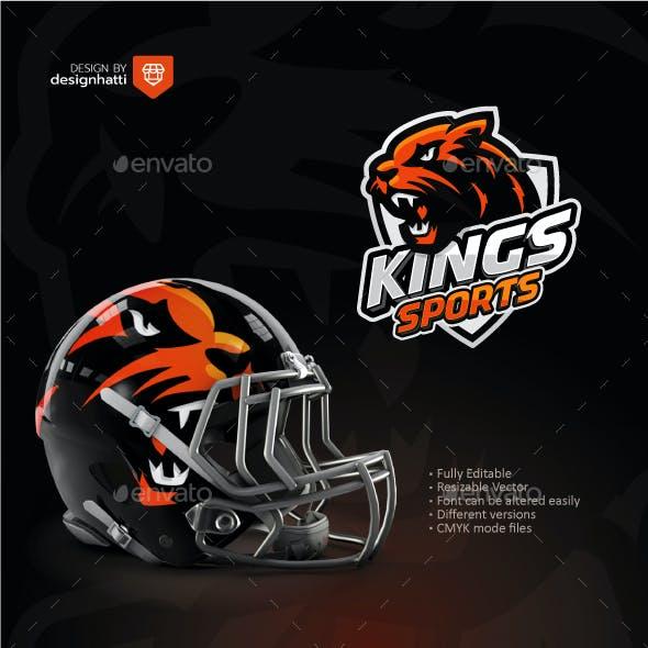 King Lion Sports Logo