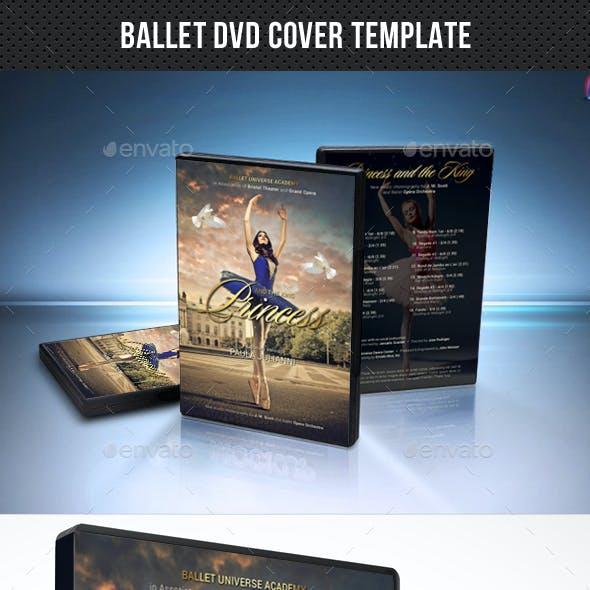 Ballet DVD Cover Template