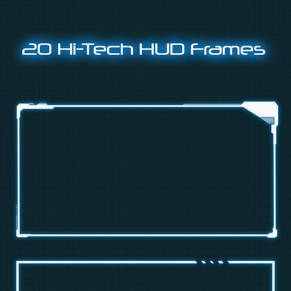 Hi-tech HUD Frames