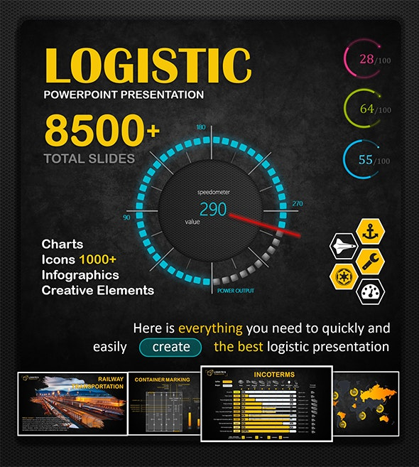 Big Logistic PowerPoint Template