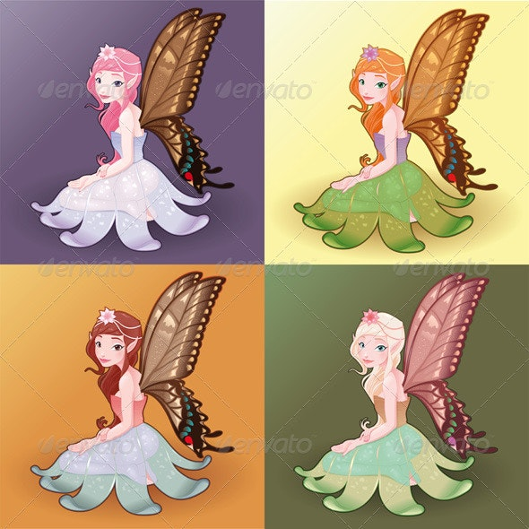 Young fairies.  - Miscellaneous Characters