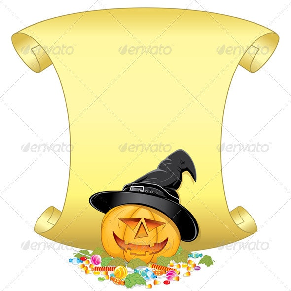 Candy Pumpkin - Halloween Seasons/Holidays
