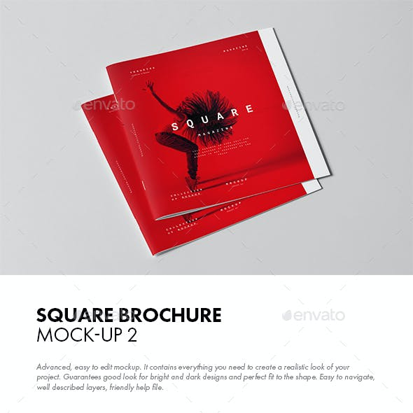 Square Brochure Mock-up 2