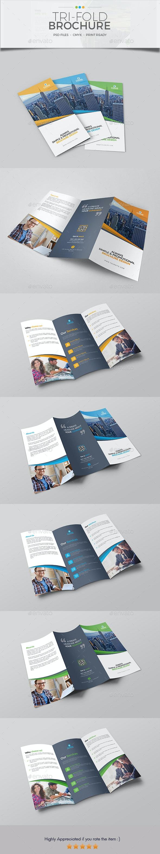 Trifold Brochure Template 13 - Corporate Brochures