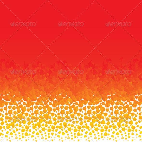 Fiery Backdrop - Backgrounds Decorative