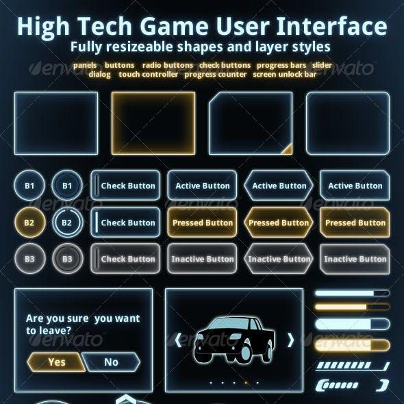 High Tech UI Set