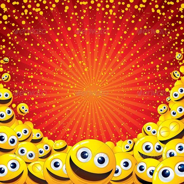 Joyful Background - Backgrounds Decorative