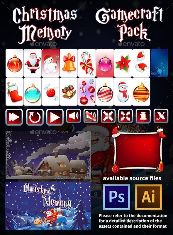 Christmas Memory - Game Assets - Game Kits Game Assets