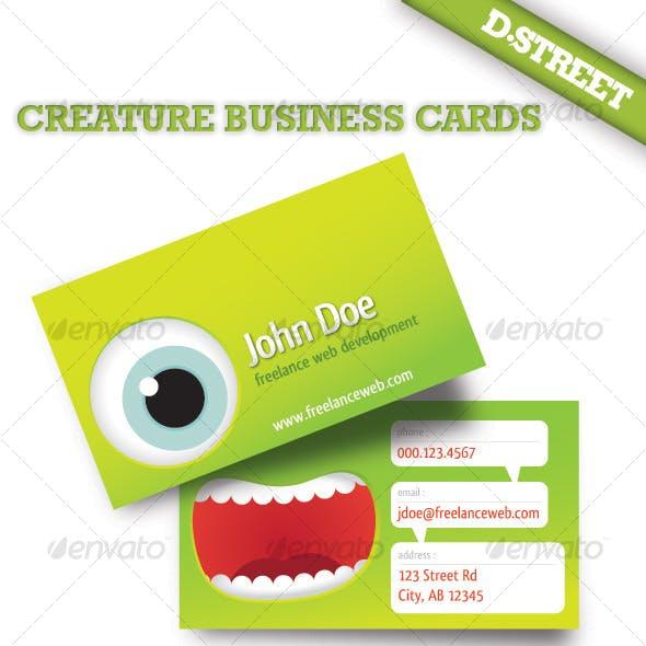 Creature Business Card