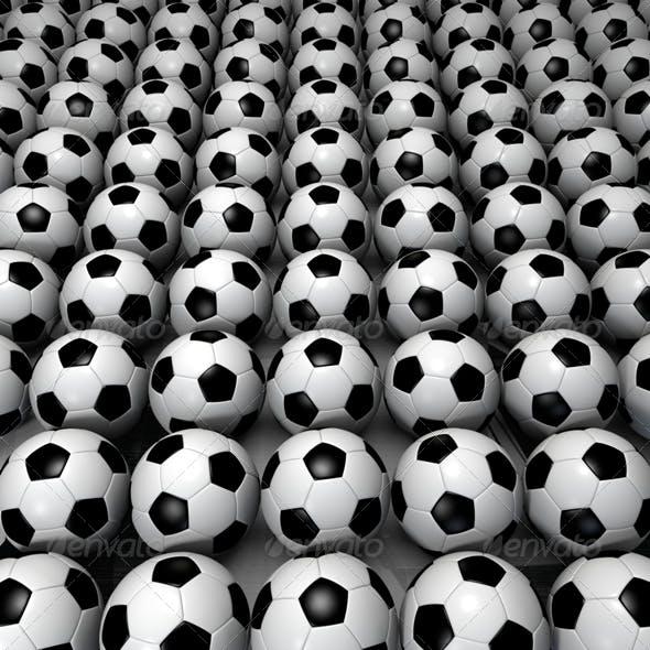 Field of Soccer Ball