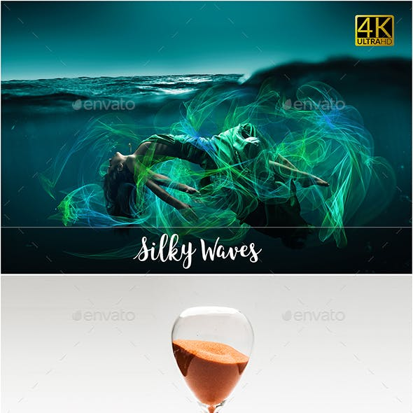 4K Energy Waves Overlays