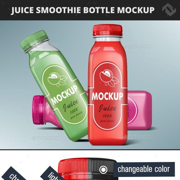 Smoothie Bottle Mockup