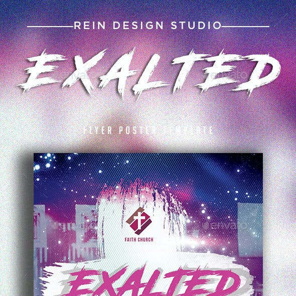 Exalted Church Flyer