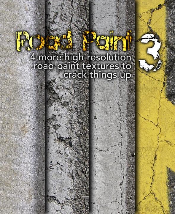 Road Paint 3 - Concrete Textures