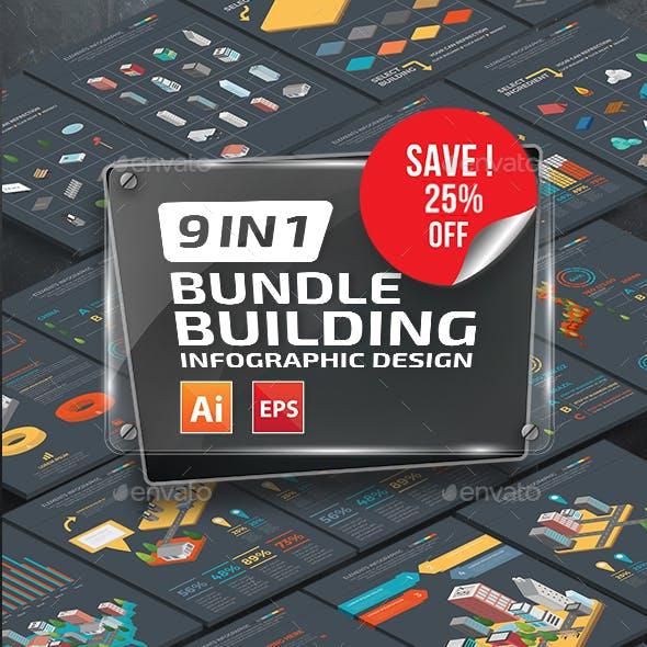 Bundle Building Infographics Design