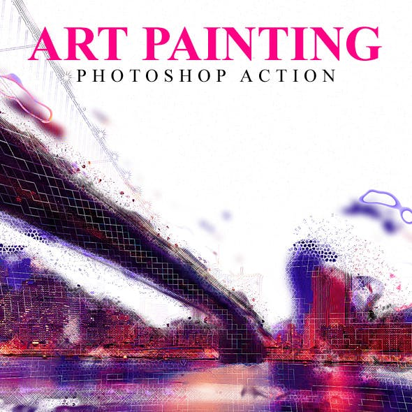Art Painting Photoshop Action