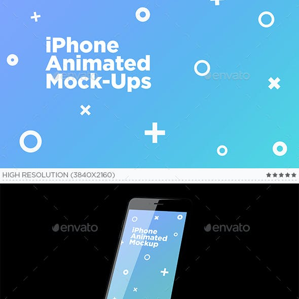 Phone Animated Mock-Ups