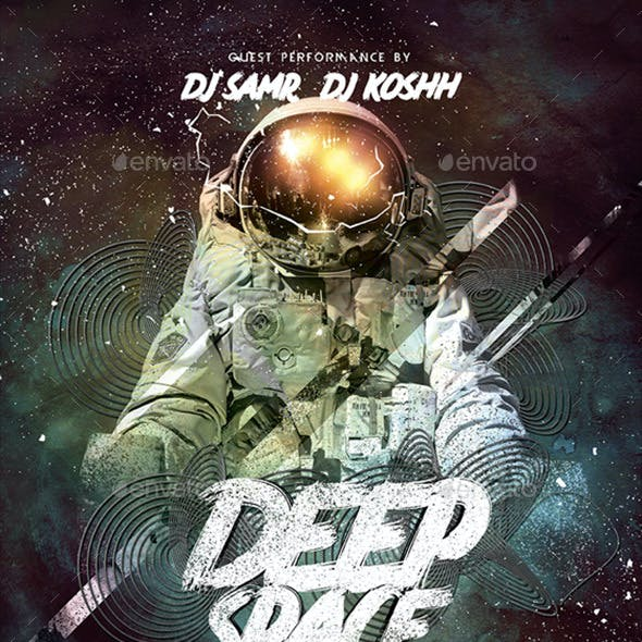 Deep Space Poster / Flyer