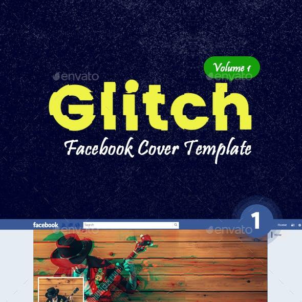 Facebook Covers - Glitch Cover