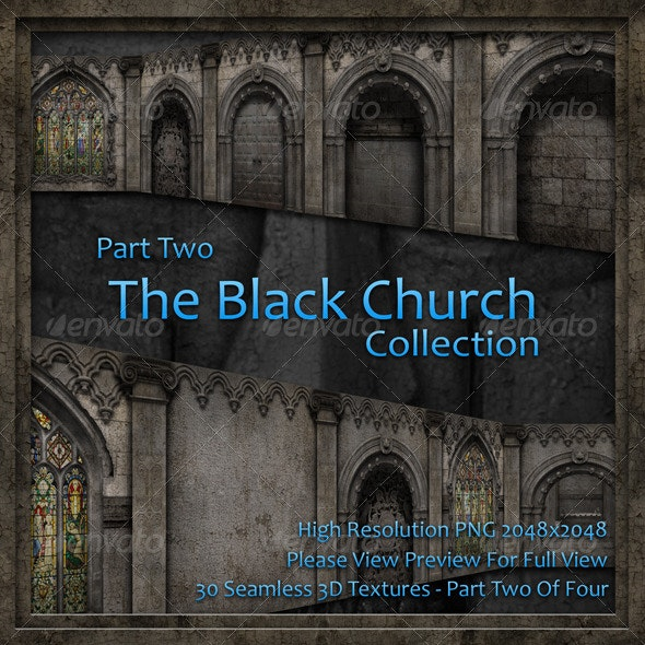 The Black Church Collection - Part Two - Stone Textures