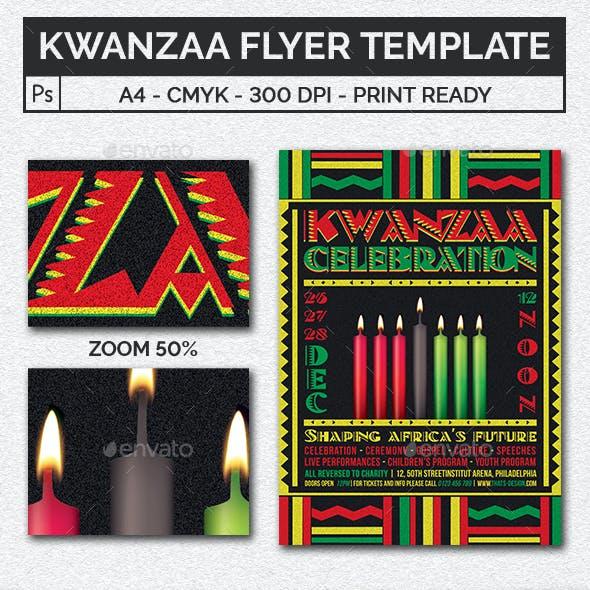 Kwanzaa Flyer Template