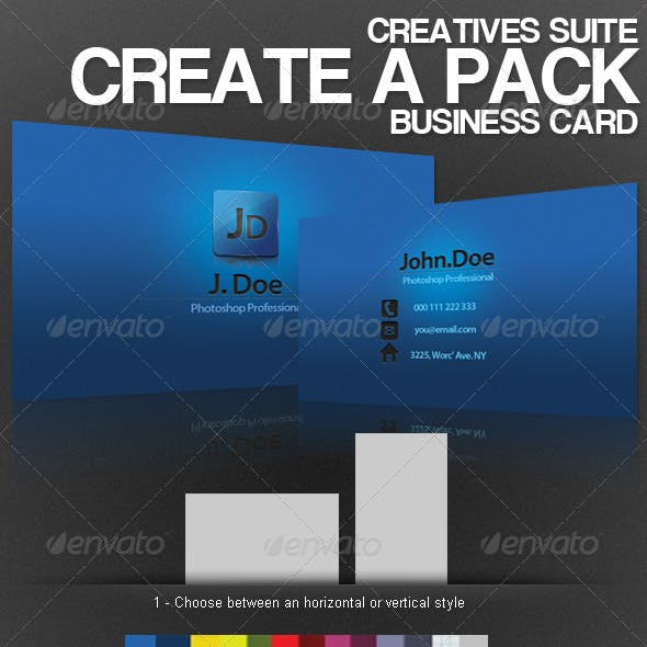 Creatives Suite - Create a Card Pack
