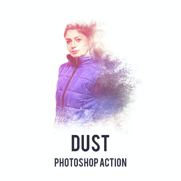 Dust Photoshop Action