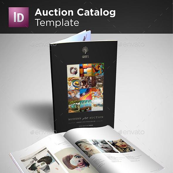 Auction Catalog Template