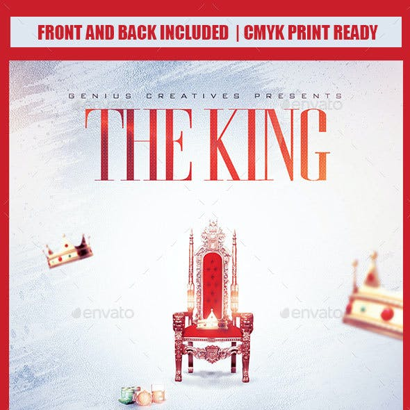 THE KING MIXTAPE COVER