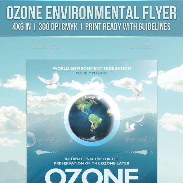 Ozone Environmental Flyer