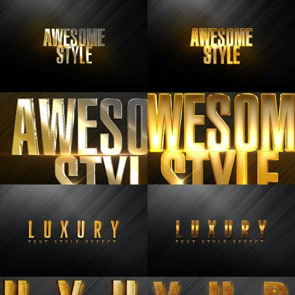 Text Styles Mix C Bundle