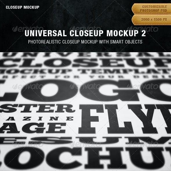 Universal Closeup Mockup 2