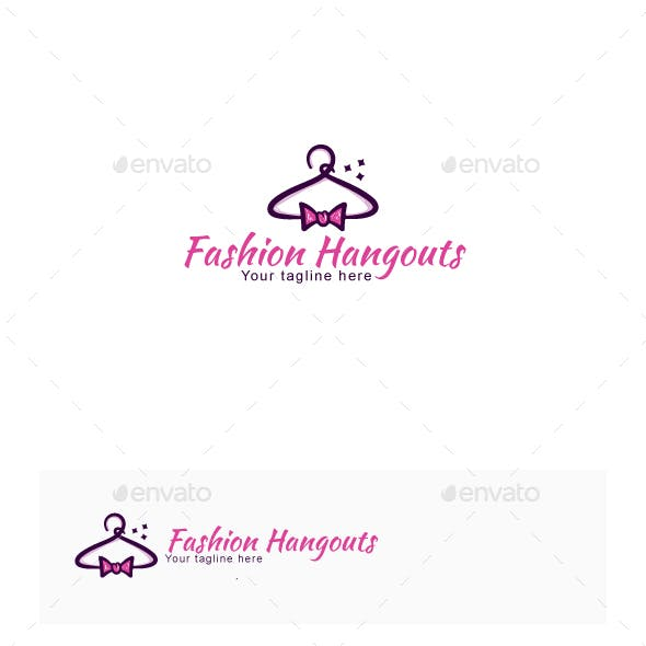 Fashion Hangouts Stock Logo Template