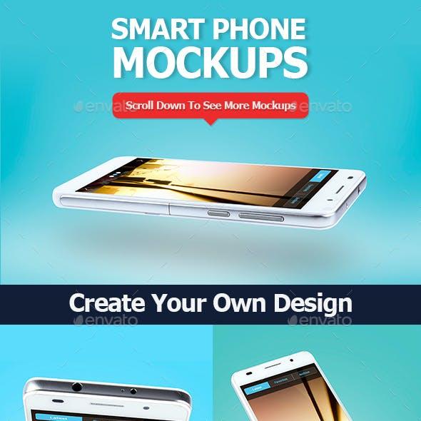 Smartphone Mockup Set 2