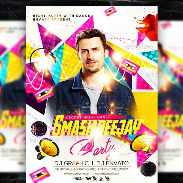 Club Guest DJ Flyer