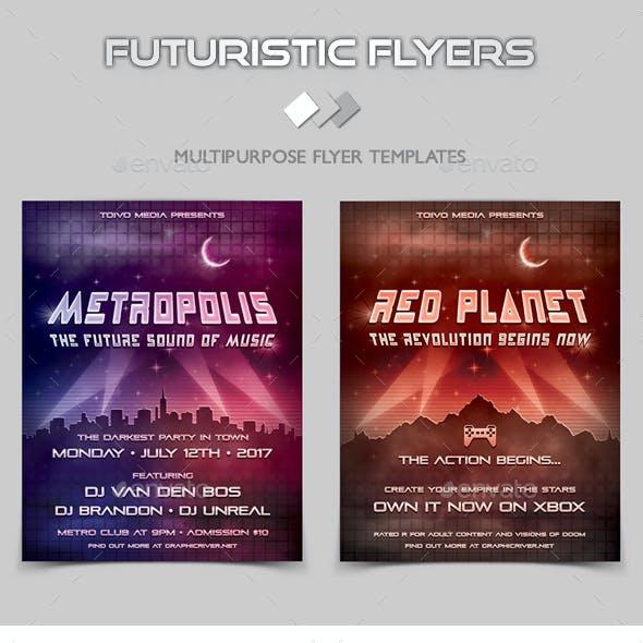 Futuristic Flyers