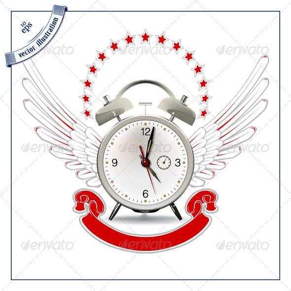 Clock Wing Emblem
