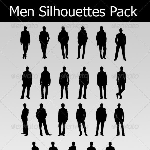 Men Silhouettes Pack