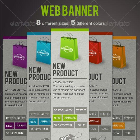 Fresh Web Banners