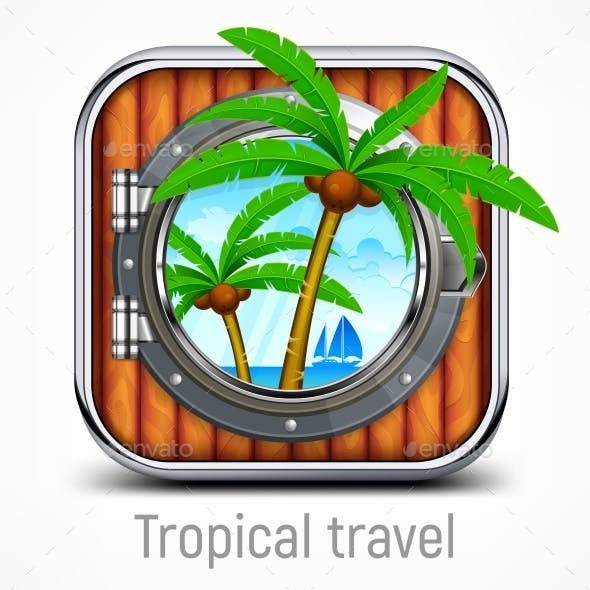 Tropical Travel Concept