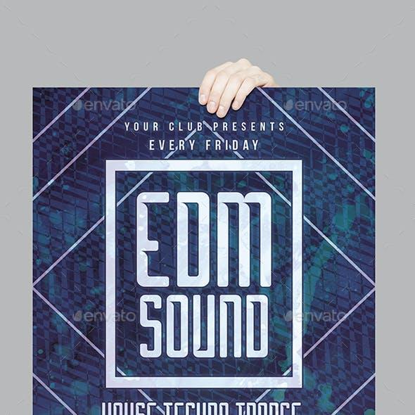 EDM Sound Flyer