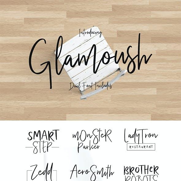 Glamoush Typeface