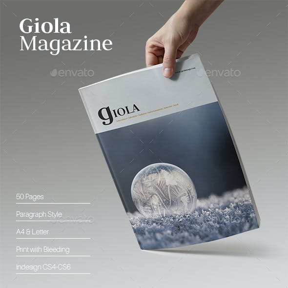 Giola Magazine (2017 Edition)