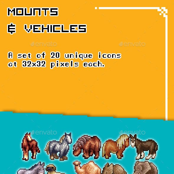 Mounts and Vehicles