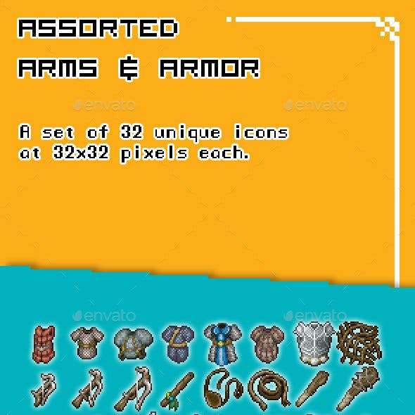 Assorted Arms and Armor