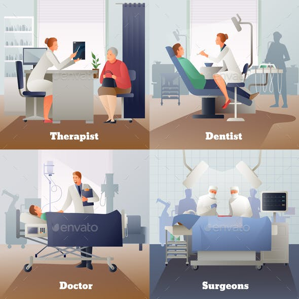 Doctor And Patient Gradient Compositions