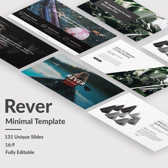 Rever Minimal Premium Keynote Template